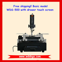 WDS-500 BGA soldering station with IR preheating for iphone bga chip reworking