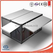 Modular prefabricated container classroom