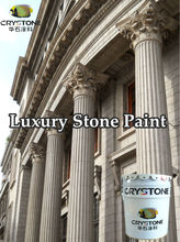 Spray application Exterior&Interior Walls building project water based natural real stone paint-Contruction Coating