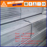 Q195-Q235 square hollow steel tube,steel square tube material specifications,Pre Galvanised Steel Hollow Section
