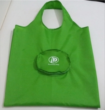 ECO-friendly folding shopping bag polyester handle gift bag