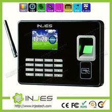 High Security Bank equipments WAN/ LAN Portable Fingerprint Punch Machine