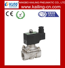"""2WB-25 1""""inch hot water and code water stainless solenoid valve for air gas"""