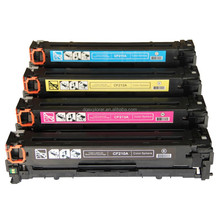Compatible CF210A toner cartridge for HP CF210A CF211A CF212A CF213A toner cartridge