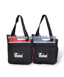Stitched Organizer Deluxe Convention Tote Bag, Stylish, 600D Polyester