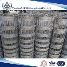 Corrosion Resistant farm field fence made in china/Sale high quality farm galvanized cheap field fence in alibaba