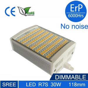 R7s-5630-30w r7s 30 Вт энергосберегающие r7s 78 мм из светодиодов 15 Вт