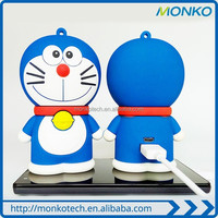 Doraemon power bank cartoon mobile charger for gift