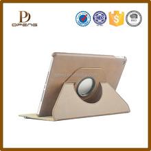 New arrival 360 degree rotate leather case for ipad mini