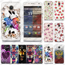 Fashion Glossy Various Printed Soft TPU Case Cover for Moto X+1 with free shipping