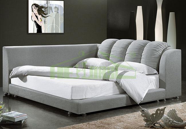 3017 # moderne luxe lits bois double lit modèles-Literie-ID de ...