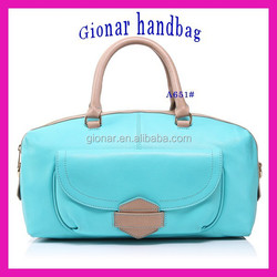 NEW!!! Genuine Leather Fashion Luggage Travel Bag Cow Leather Duffle Bag for woman