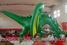 Top quality favorable price advertising giant inflatable dinosaur