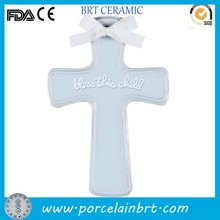 For children bless hanging wall Ceramic Cross