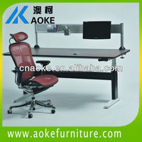 portable standing adjustable computer desk writing laptop desk