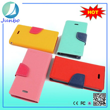 Newest modest leather cell phone case cover for samsung galaxy mega 5.8