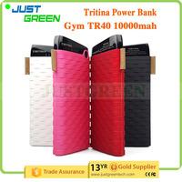 mobile power bank Two USB Output best power bank 10000mah External Battery bank power