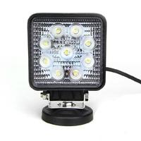 1PCS/LOT high quality DC10-30V IP67 27w led work light offroad 9pcsx3W 12V epistar chip car spot lamp free shipping