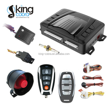 12V auto guard one way car alarm security with remote engine start