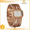 2015 Rose gold Bracelet Women Watch Chain Band Lady Wrist Kingsky Original Design Brand