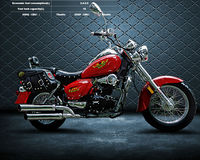 chinese zf-ky 250cc gas chopper motorcycles ZF250-6A