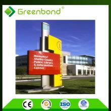 Greenbond fireproof panel acp sheet manufacturers acp wall aluminium cladding