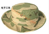 Hunting Desert Camo Bucket Jungle Cotton Military Boonie Hat Cap