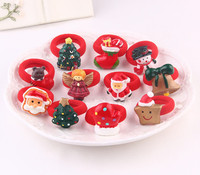 Baby Christmas Accessories Wholesale China Fashion Child Hair Ties