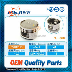 Lifan Motorcycle G110 Piston set OEM Quality