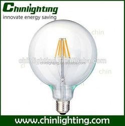 2015 slim 220v g125 filament led bulb light LED Bulb E27 G125 led filament bulb g125 led big globe dimmable led lights