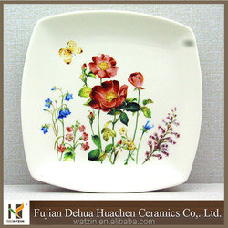 ceramic decorative salad plate