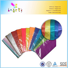colorful 17gsm tissue paper sheets, printed wrapping tissue paper