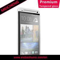0.26mm thickness tempered glass anti fingerprint glass screen protector for htc desire 600 dual sim