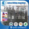 High capacity 3 in 1 orange juice filling plant