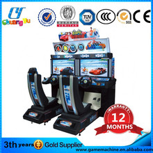Double outrun simulator arcade racing car board games machine manufacturer in china
