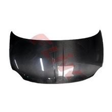 Carbon fiber hood for FIAT 500