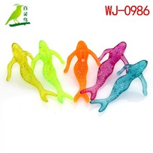 Beautiful mermaid two size promotional toys plastic mini toys
