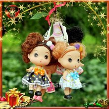 Pendent dolls for Christmas tree