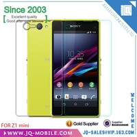 Mobile phone screen protector For Sony Z1mini Tempered Glass screen protector