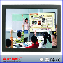 21.5 inch Open Frame industrial LCD Monitor VGA/DVI interface, touch monitor for digital signage and kiosk