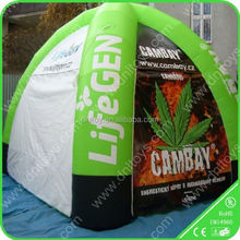 Camping air dome tent