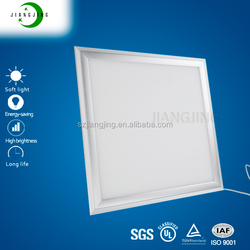 Cheap UL TUV CE RoHS approved 600x600 office recessed ceiling Shenzhen square slim flat panel led light