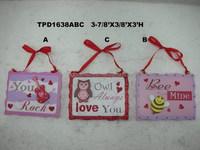 Decorative Valentine Small Ornaments-Set of 3