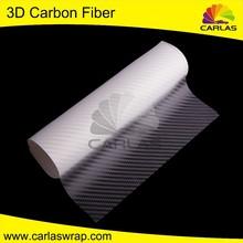 Carlas tejido de fibra de carbono venta despegable pegatinas venta