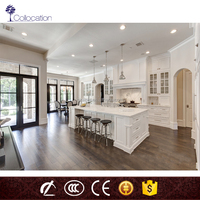 MDF Lacquer Series simple Style Home Furniture Kitchen with hang cabinet