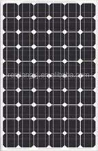 RJ manufacturer 60 pcs mono solar cells 156*156 pv module 220W Solar panel for Indian