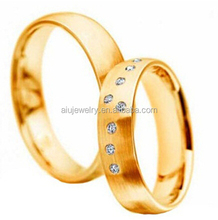 High Quality 585 Gold Wedding Rings