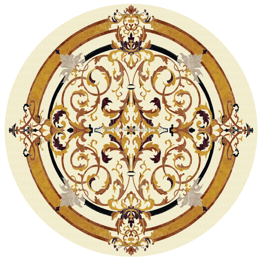 Floor And Wall Decoration Patterns Tile Round Mosaic