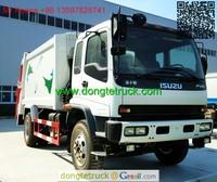 10m3 FTR Rear Loader Garbage Truck Cell:+86 13597828741