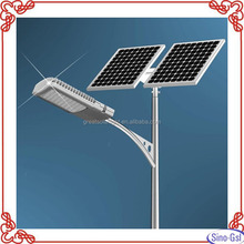 Good performance solar street light with steel pole for sale